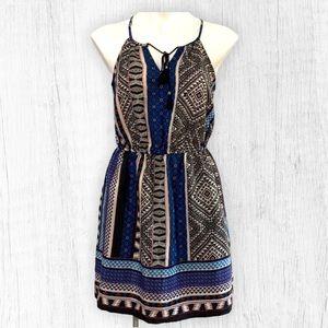 NWT! BeBop Black and Blue Summer Dress